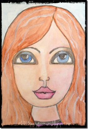 Whimsical Portrait 01-20-2013