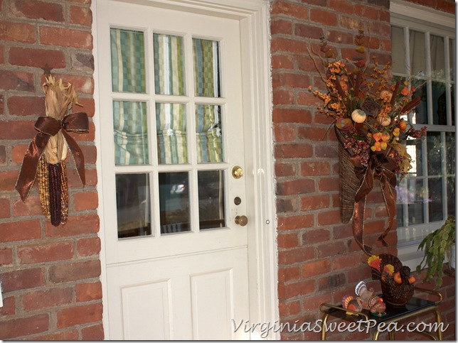 Turkeys on the Porch
