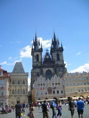 Atractii turistice Cehia: Biserica Maria din Tyn Praga