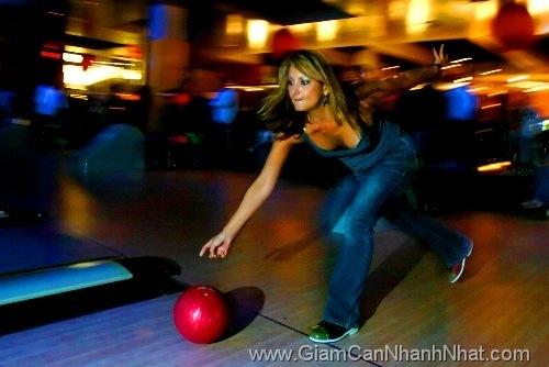 Choi bowling giup giam can
