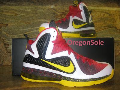 nike lebron 9 ss mvp 1 03 Unreleased Nike LeBron 9 MVP   Black Midsole Sample