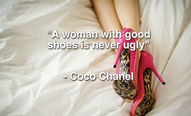 Coco-Chanel-quote-about-shoes