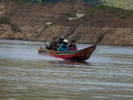 Barca rapida Mekong