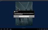 Motorola Xoom - esempio di applicazione che crasha