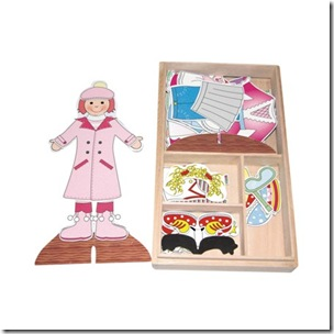 Magnetic Dress Up set 500