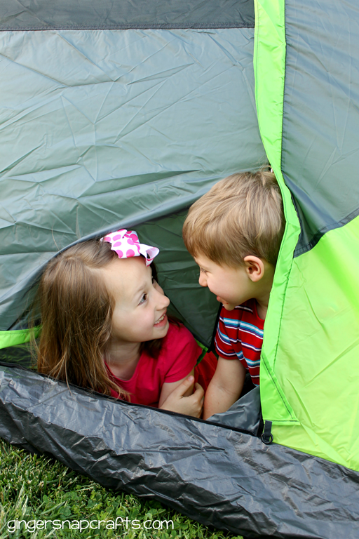 tent in the backyard #shop