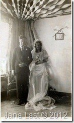 Arthur Iverson and Ingrid Gillberg Wedding Photo