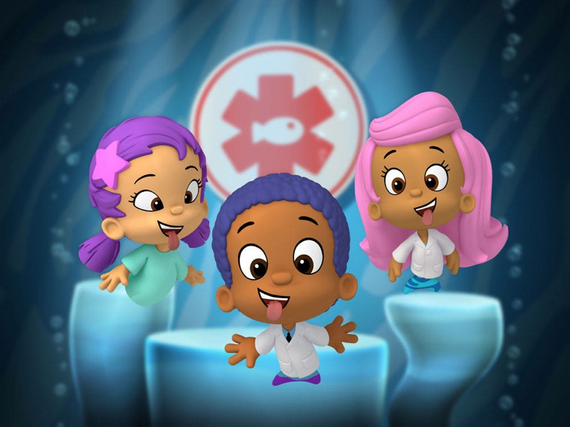 Squarciomomo i bubble guppies