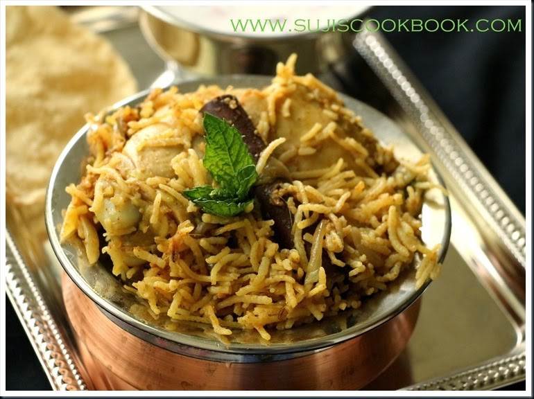 Chettinad Chicken biriyani