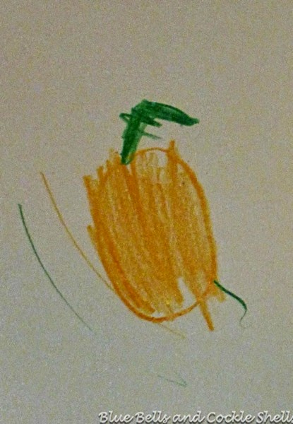 Nature Journal Friday - Pumpkins | From Blue Bells and Cockle Shells