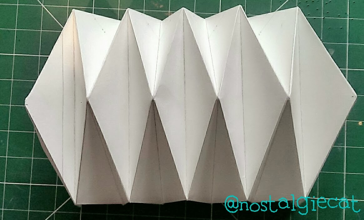 How to fold paper from an origami bird