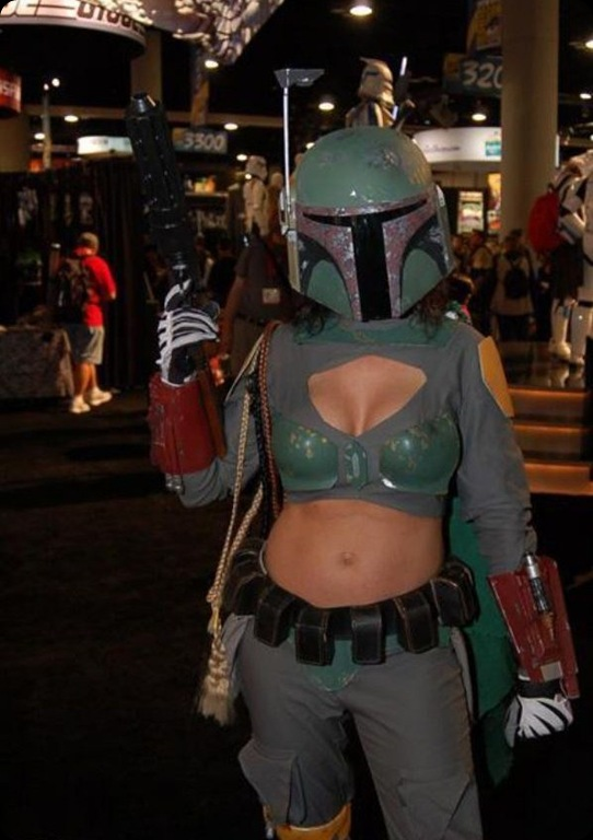 Boba Boobies girl cool star wars