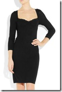 Moschino Cheap and Chic Black Sweater Dress