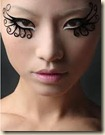 make up eyelashes