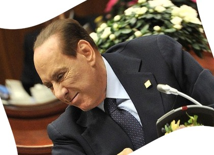 Berlusconi in troubles