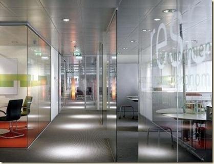 Fotos de mamparas para oficinas modernas decoraci n de for Oficinas de abogados modernas
