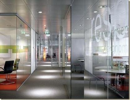 Fotos de mamparas para oficinas modernas decoraci n de for Oficinas elegantes y modernas