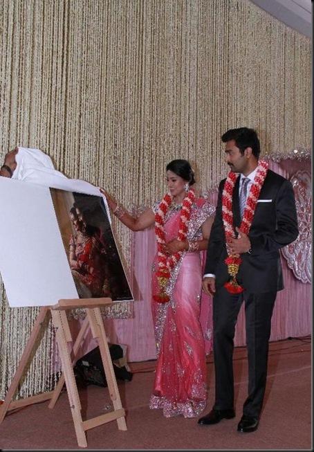 Sneha and Prasanna Wedding Reception Photos_49