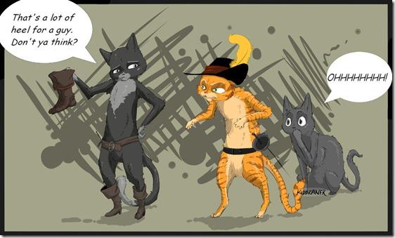 El Gato con Botas,El gato maestro,Cagliuso, Charles Perrault,Master Cat, The Booted Cat,Le Maître Chat, ou Le Chat Botté (64)