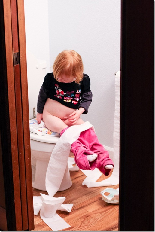 Sara on the potty-7 blog