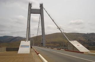 Le pont Marechal à Matadi