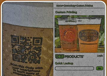 QR Codes on Coffee Cups