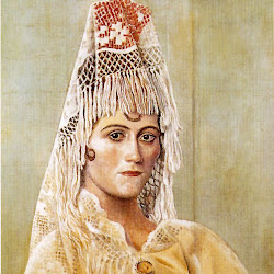 Picasso - (Pablo Ruiz Picasso) Olga con mantilla.jpg