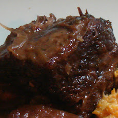 Smoked Porter & Apple Braised Short Ribs