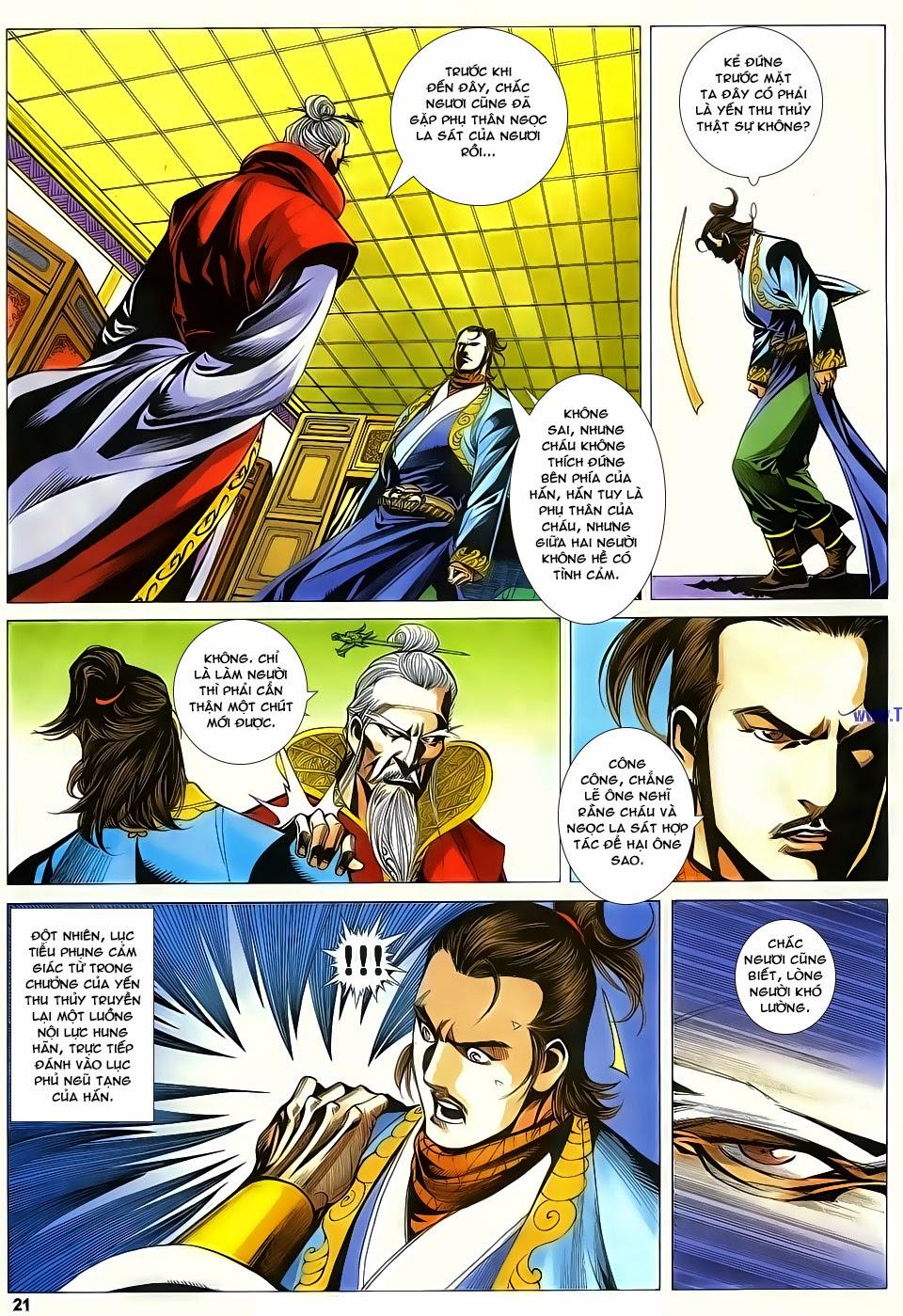 Cổ Long Quần Hiệp Truyện chap 83 - Trang 21