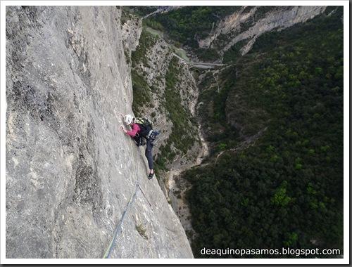 Via Gali-Molero 500m 6b  Ae (V  A1 Oblig) (Roca Regina, Terradets) (Victor) 0075