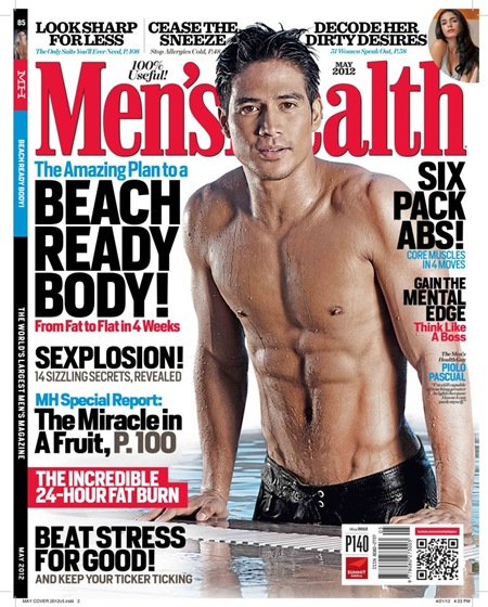 piolo men's health may 2012