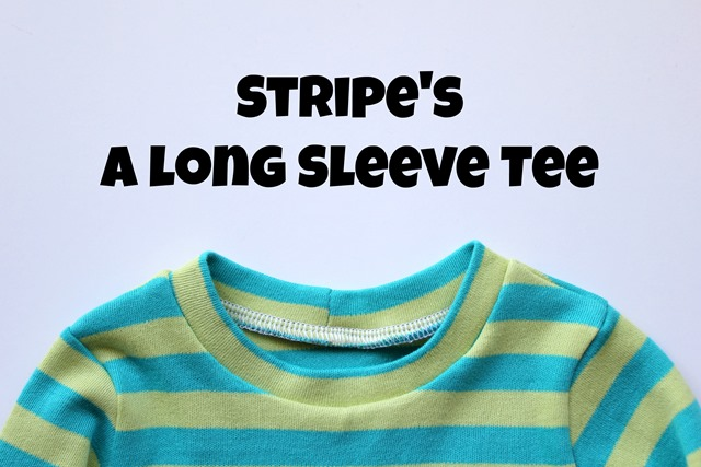 Stripes long sleeve tee 1
