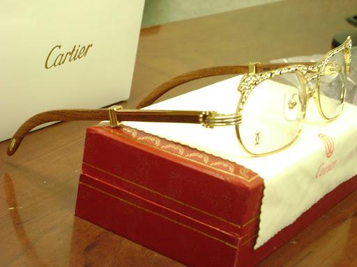Cartier Glasses Wood Frame : CARTIER WOOD FRAME EYEGLASSES - Eyeglasses Online