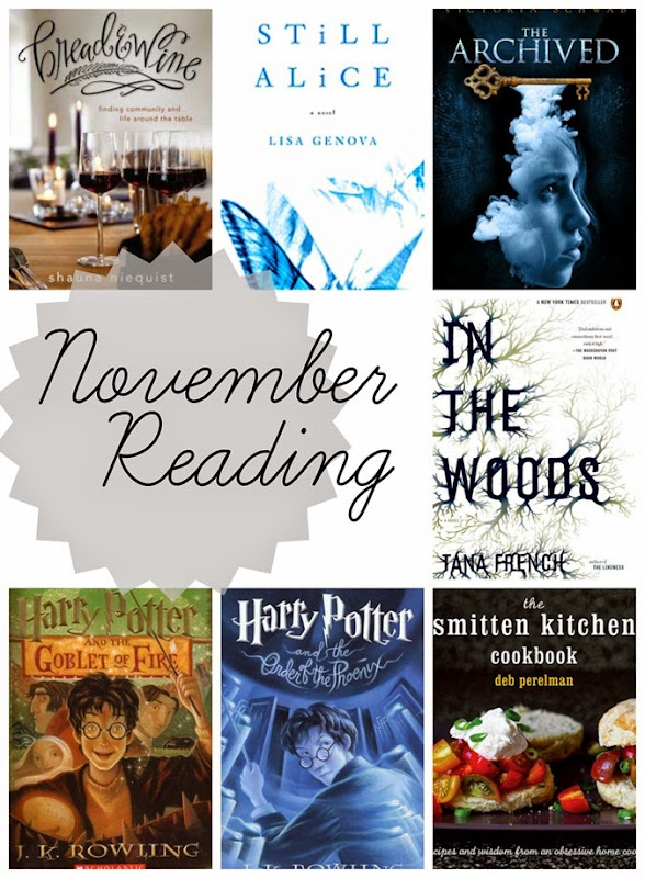 November Reading--book ratings and reviews // www.maybematilda.com
