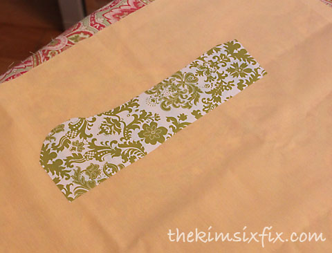 Fabric applique transfer