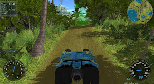 Stunt Rally 2.1 - la Batmobile