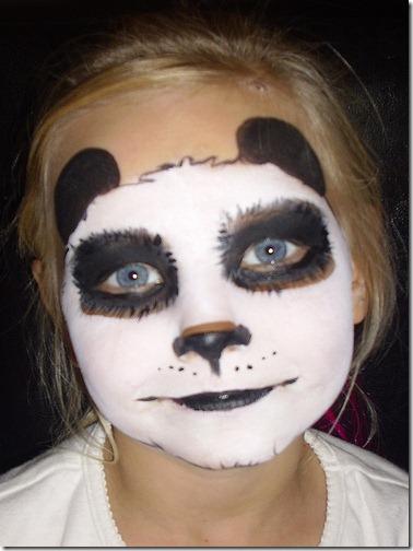 maquillaje de oso panda (6)