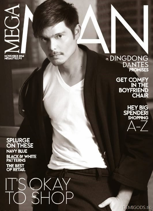 Dingdong Dantes Mega Man Magazine November 2014