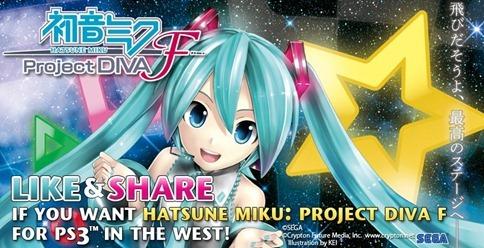 hatsune miku project diva f facebook