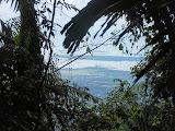 View to the airport from halfway up Gunung Ranai (Dan Quinn, September 2013)