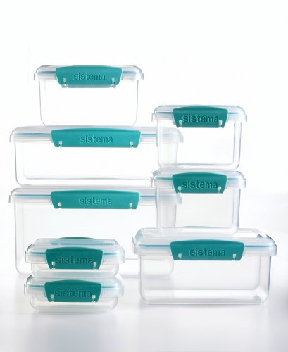 From the Martha Stewart Collection, this 16-piece Food Storage Container set ($29.99) is a perfect way to keep leftovers in your refrigerator (the airtight containers keeps your food fresh).