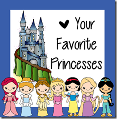 Disney Princess Worksheets