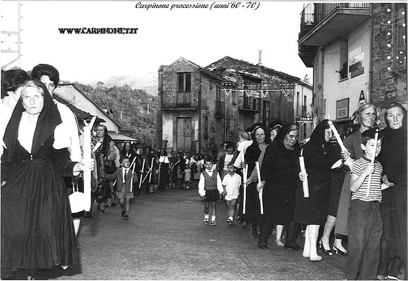 Processione anni 60/70