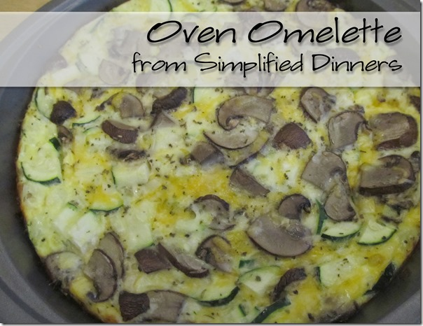 Simplified Dinners Oven Omelette
