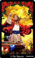Галерея колоды Таро Ведьм (Колдовское Таро)  1-001