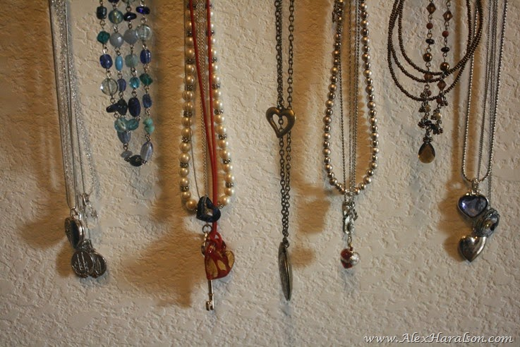 DIY Framed Jewelry Organizer15