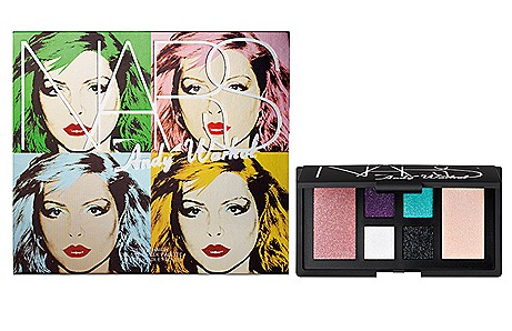 NARS Andy Warhol Debbie Harry palette and packaging