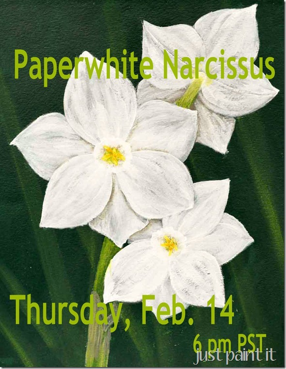 Narcissus-Painting-Class