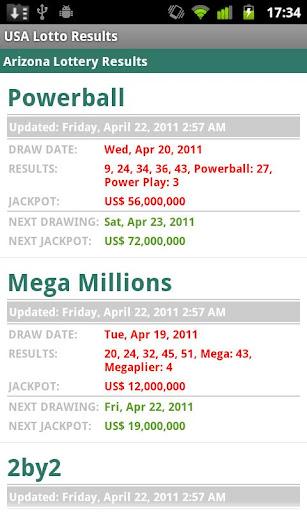 USA Lotto Results