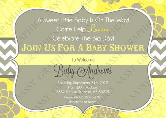 Gender Neutral Baby Shower Invitation-5